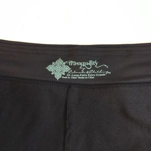 2cee5040a303a Tanquaility Skirts - Tranquility Black Plus Size Yoga   Active Skort